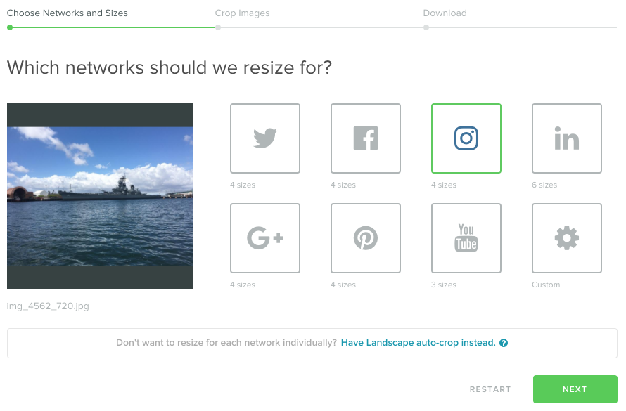 landscape stage 1 example  12 Little Known Instagram Hacks Brands Must Try landscape stage 1