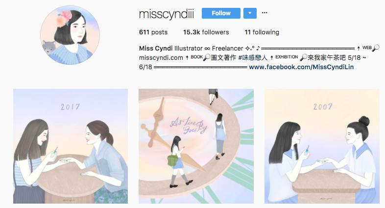 miss cyndiii instagram web profile