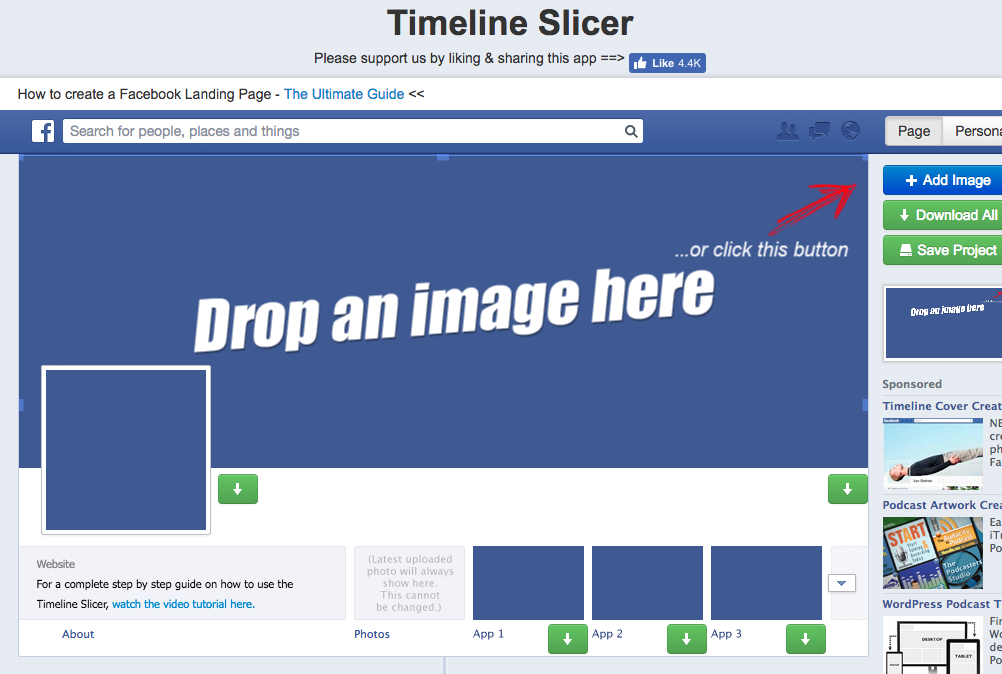 timeline slicer screenshot