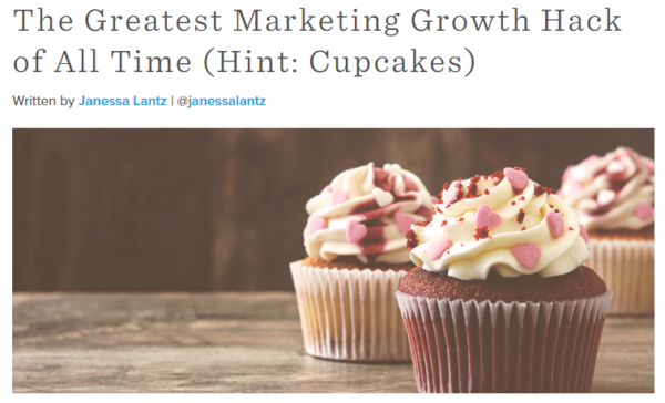 hubspot headline example