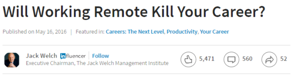 will working remote kill your career headline