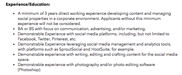 media manager job description