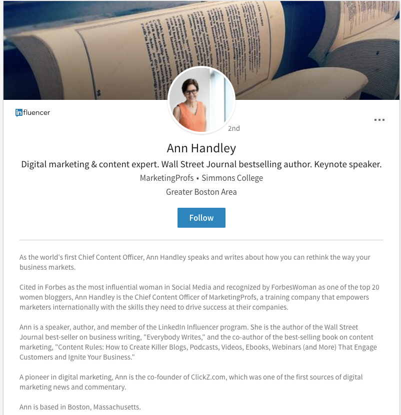 title  The Ultimate Guide to Personal Branding ann handley linkedin
