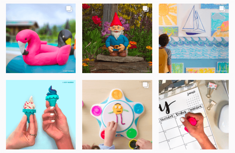 playdoh instagram feed