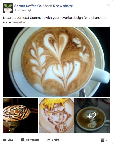 Facebook Multiple Photo Post