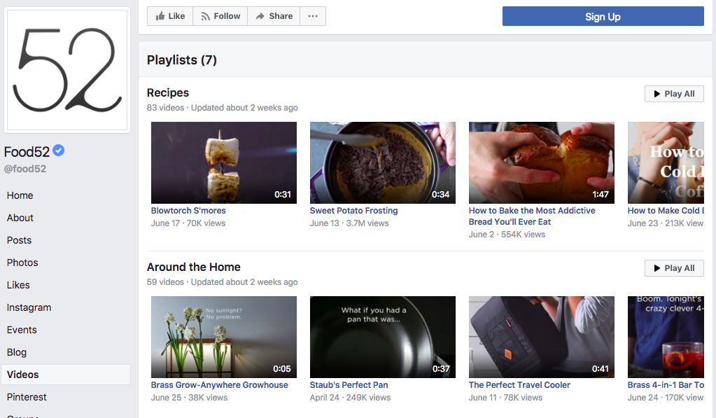 title  9 Tips to Improve Organic Growth with the Facebook Algorithm food52 facebook page video
