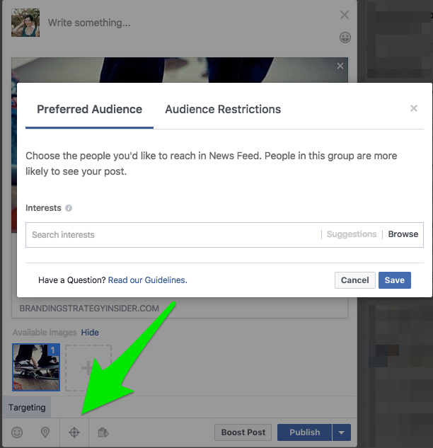 title  9 Tips to Improve Organic Growth with the Facebook Algorithm preferred audience restriction facebook