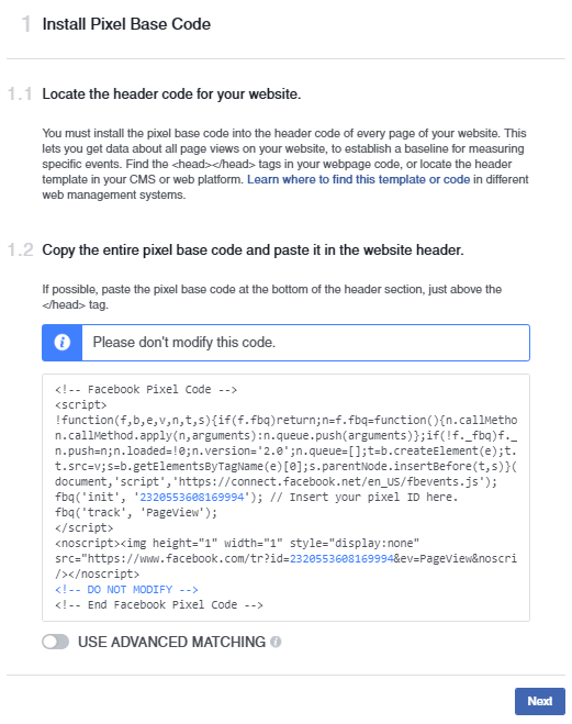 Facebook Pixel code  A Quick & Comprehensive Guide to Facebook Remarketing Facebook Pixel 5