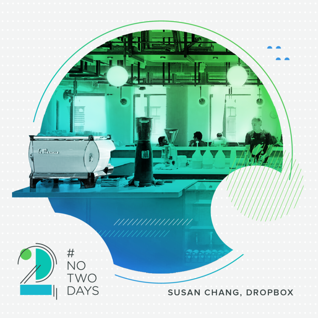 Little-R, Dropbox's cafe!  #NoTwoDays: A Day in the Life of Susan Chang of Dropbox NoTwoDays SusanChang 06