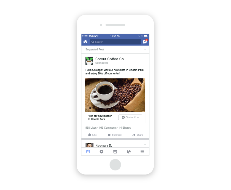 facebook ad chatbot