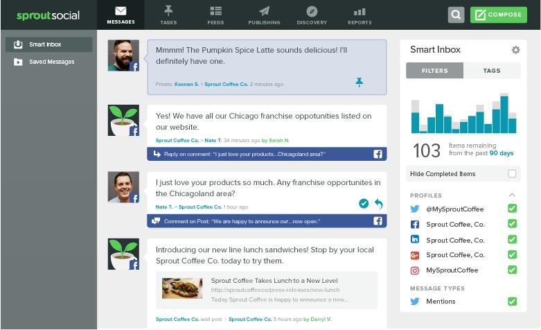 facebook smart inbox  Engagement a escala con los chatbots de Facebook Messenger bot builder facebook smart inbox