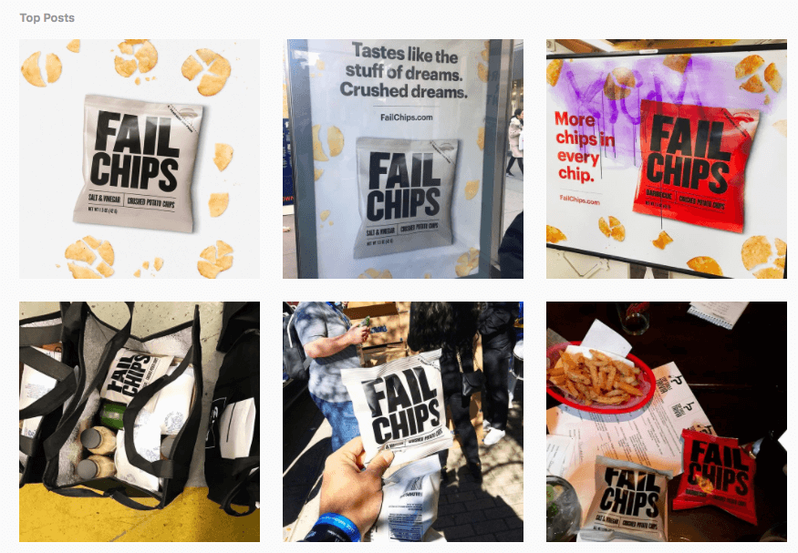 failchips instagram posts