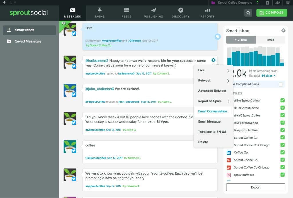 Email Twitter Conversation - Inbox