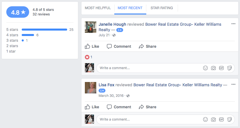 title  15 Real Estate Marketing Ideas to Win More Clients on Social bower real estate reviews