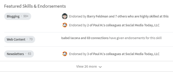 linkedin-endorsements  11 Tips & Tactics for Expert-Level Social Selling linkedin endorsements