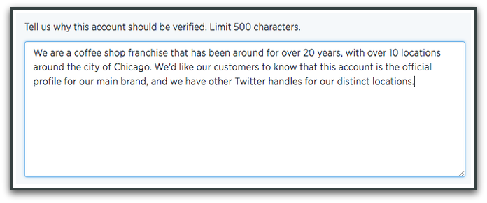 twitter verification step 4  How to Get Verified on Twitter in 5 Simple Steps twitter verification step 3