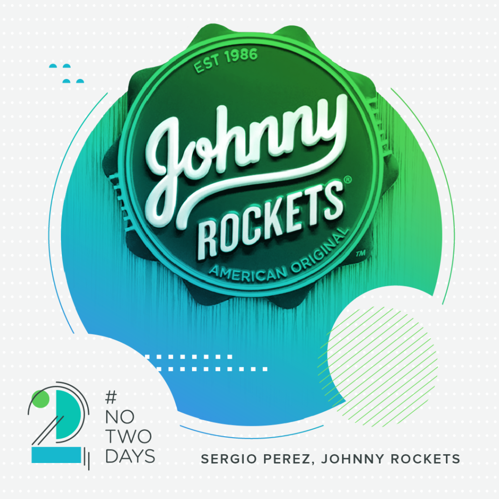 #NoTwoDays: A Day in the Life of Sergio Perez of Johnny Rockets SergioPerez NoTwoDays Logo