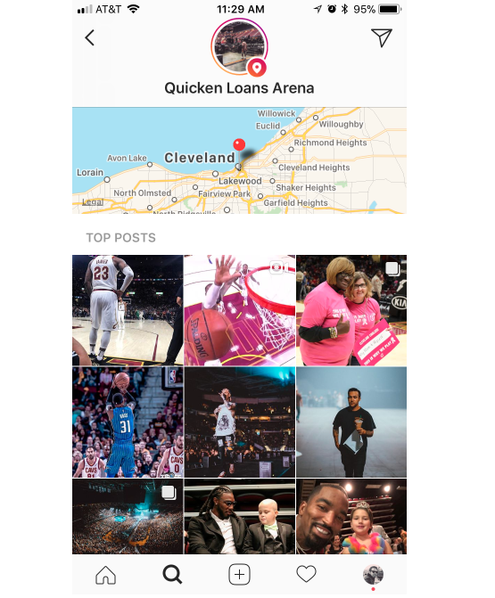 quicken loans geotag example  How to Use Instagram Geotag to Engage With Local Followers quicken loans geotag example