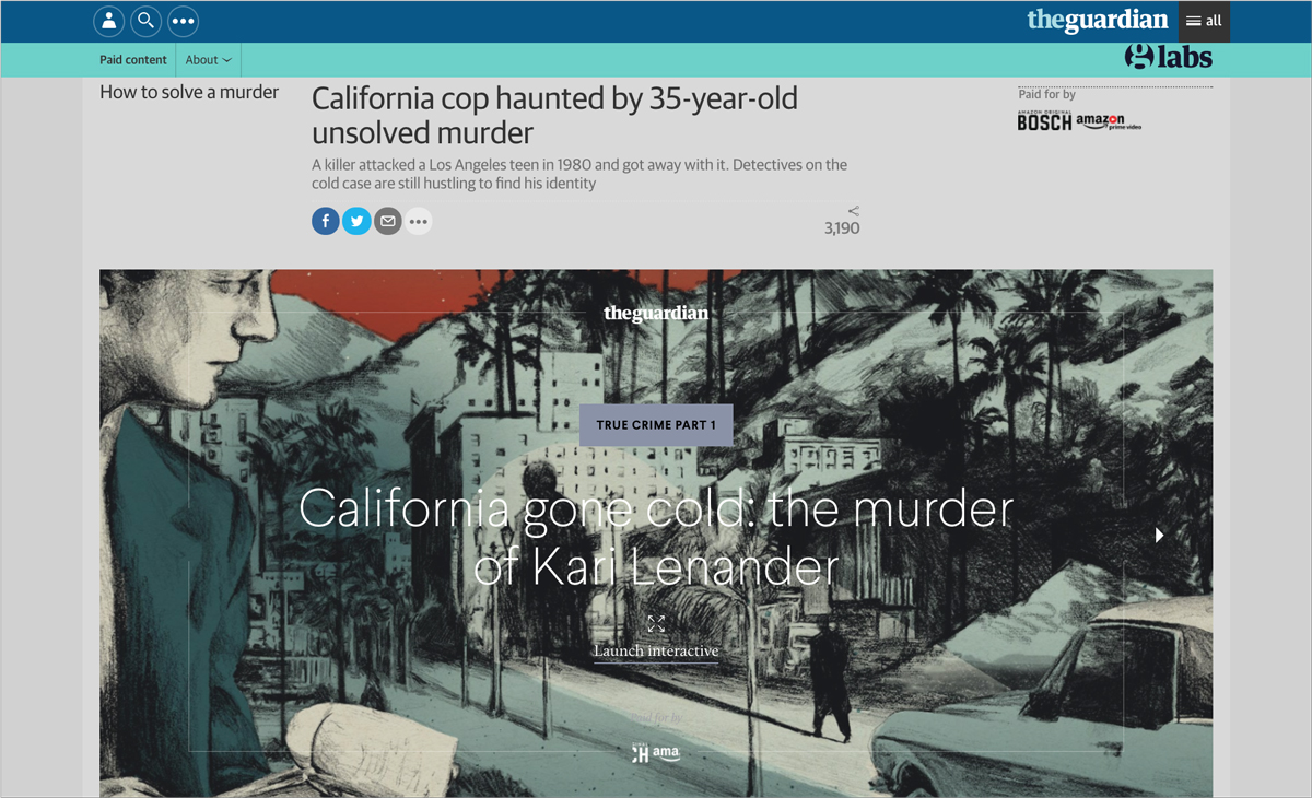 Amazon Content Example  9 Reasons Why Your Brand Needs More Journalists & Less Marketers How to solve a murder Amazon