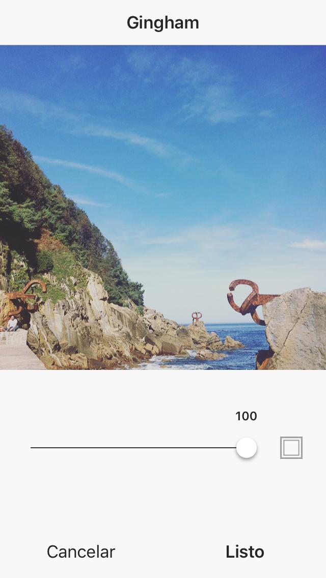 Añadir bordes a las imagenes en Instagram