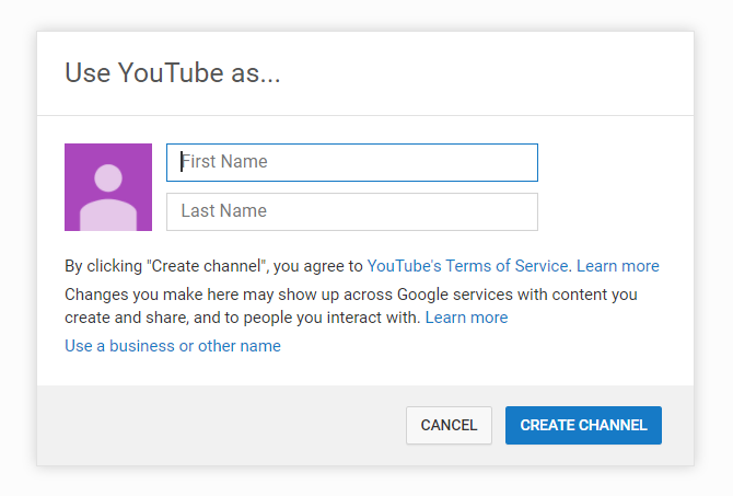 how to create a youtube business account a step by step guide