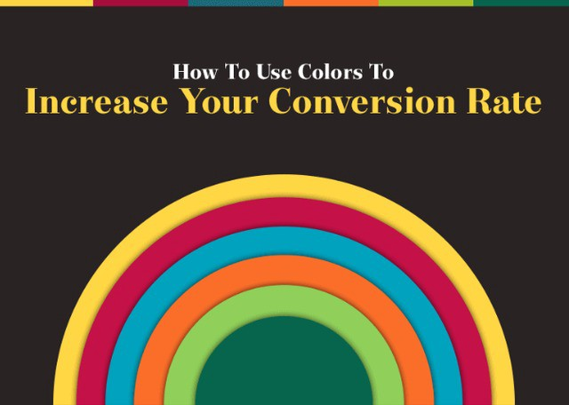 how to use colors to increase conversion rate
