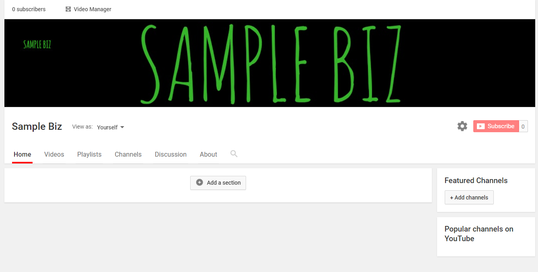 Complete channel artwork