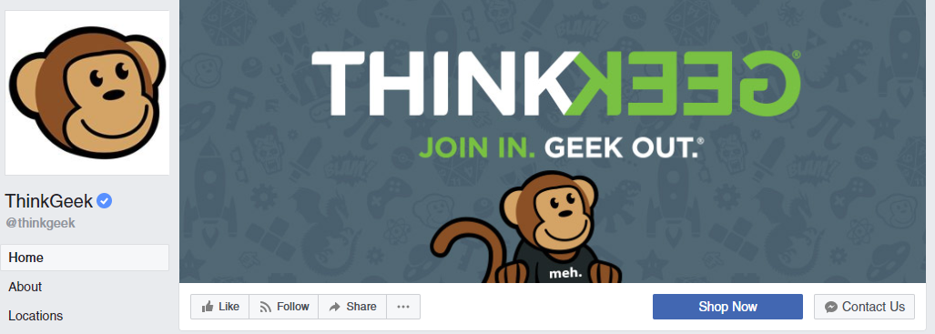 ThinkGeek cover photo
