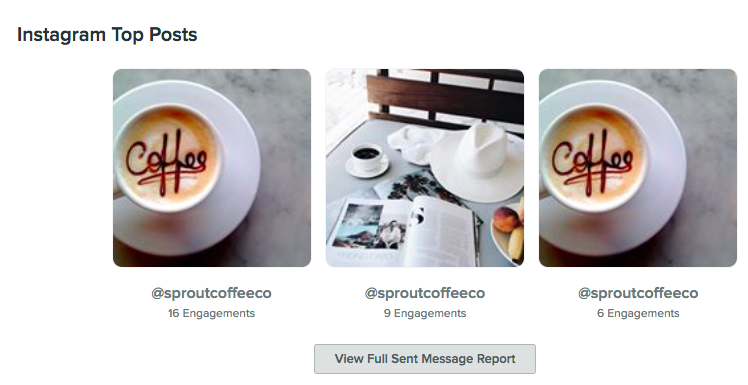 instagram top posts report