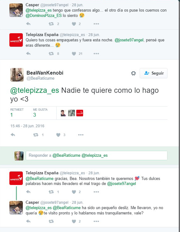telepizza tweet