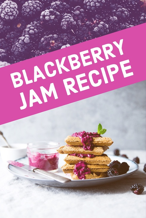 blackberry jam adobe spark template