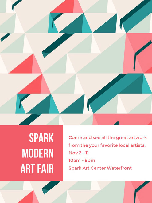Modern Art adobe spark template