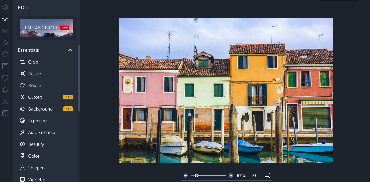 BeFunky is a free, robut photo editing App for Instagram