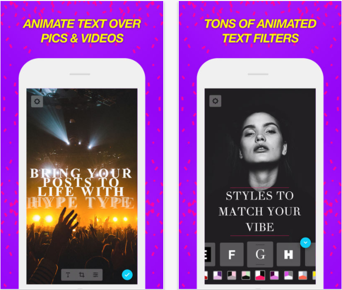 HypeType allows users to access awesome overlays for their photos