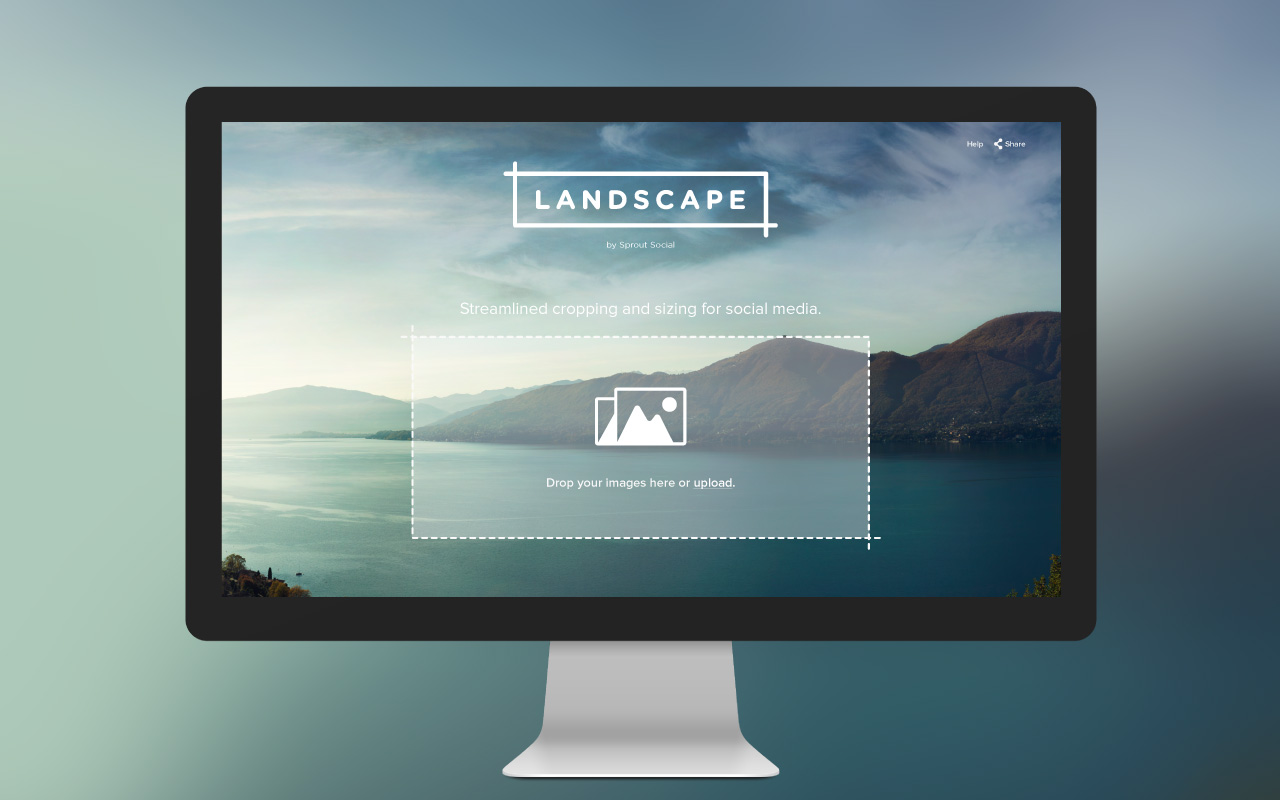 Landscape by Sprout Social makes resizing on Instagram easy