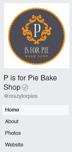 A gray checkmark on Facebook denotes a verified business profile