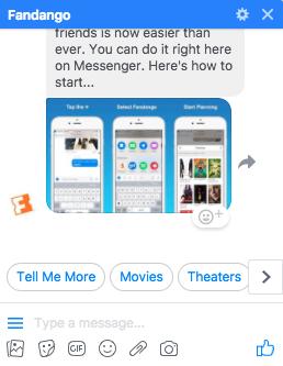 fandango chatbot