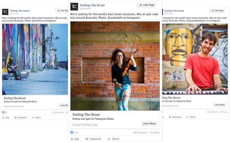 Creating a Facebook campaign around user-generated content, Toyota featured some much-needed authenticity in their ads.