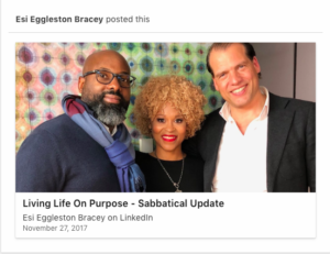 Esi Eggleston Bracey | Linkedin Example