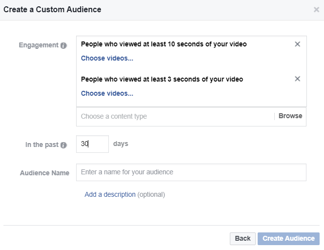Marketers can target leads based on how long they've watched a video
