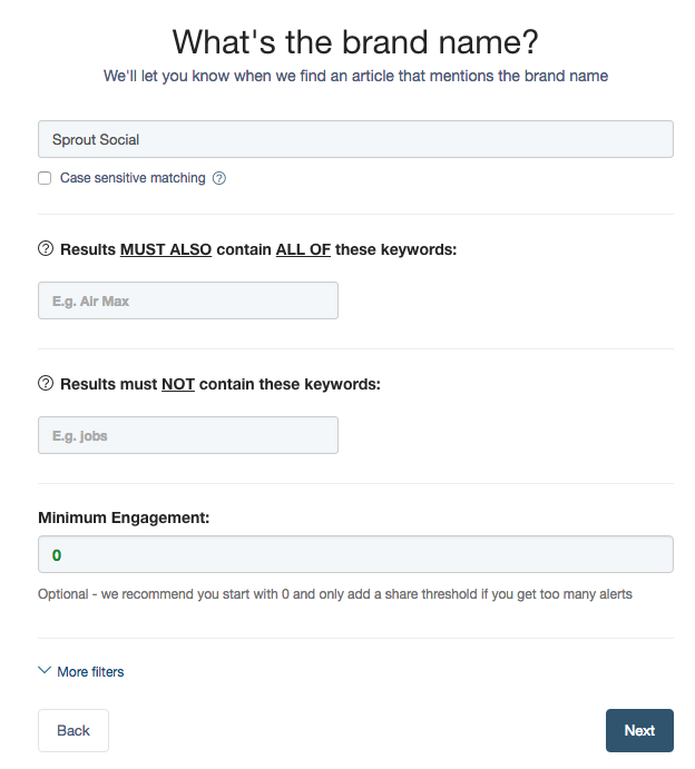 buzzsumo brand name monitoring