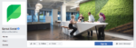 facebook cover photo of sprout social