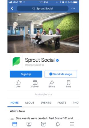 germen social móvil facebook