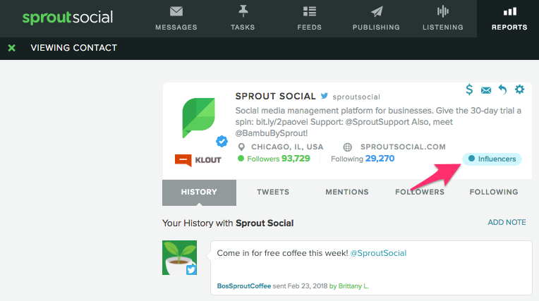 sprout social vip contact