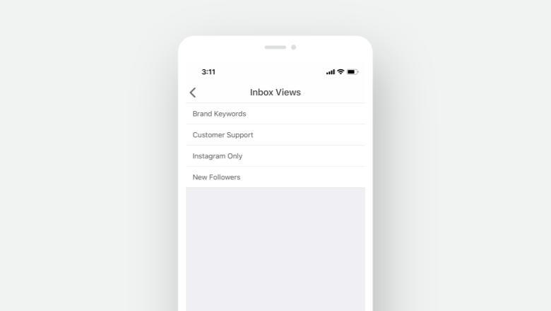 Inbox Views on Mobile - Inbox List