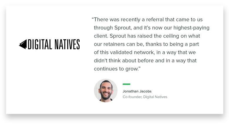 Digital Natives revenue quote