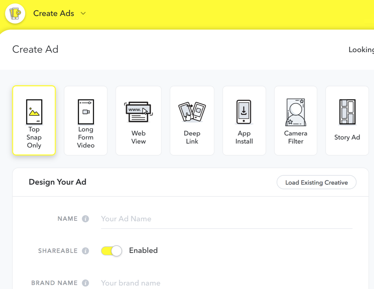 Quick and Easy Snapchat Ads