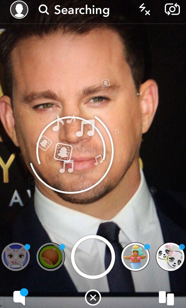 Snapchat Lens example
