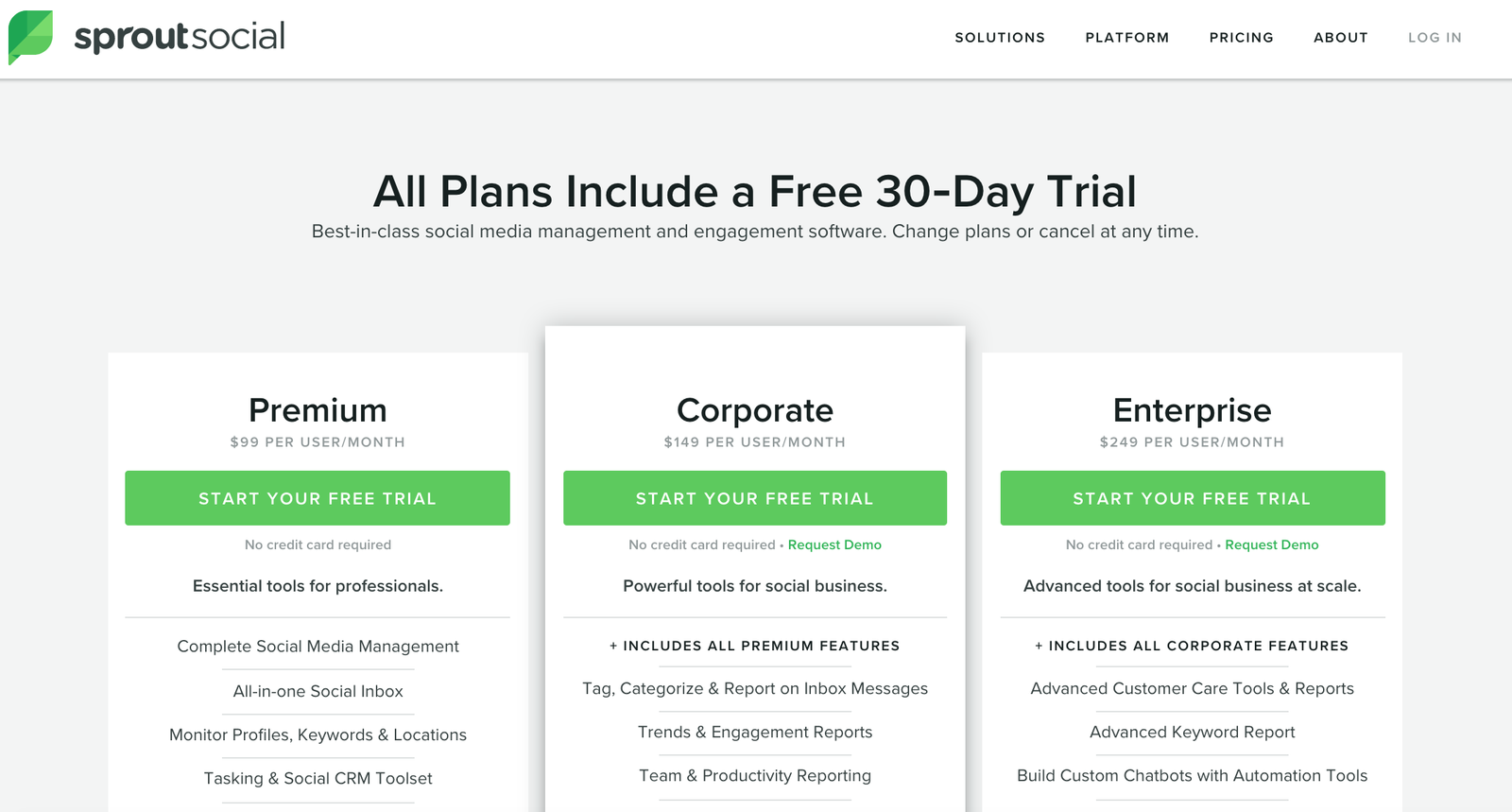 Sprout Social Free Trial