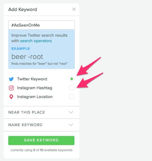 Sprout Social Keyword Monitoring